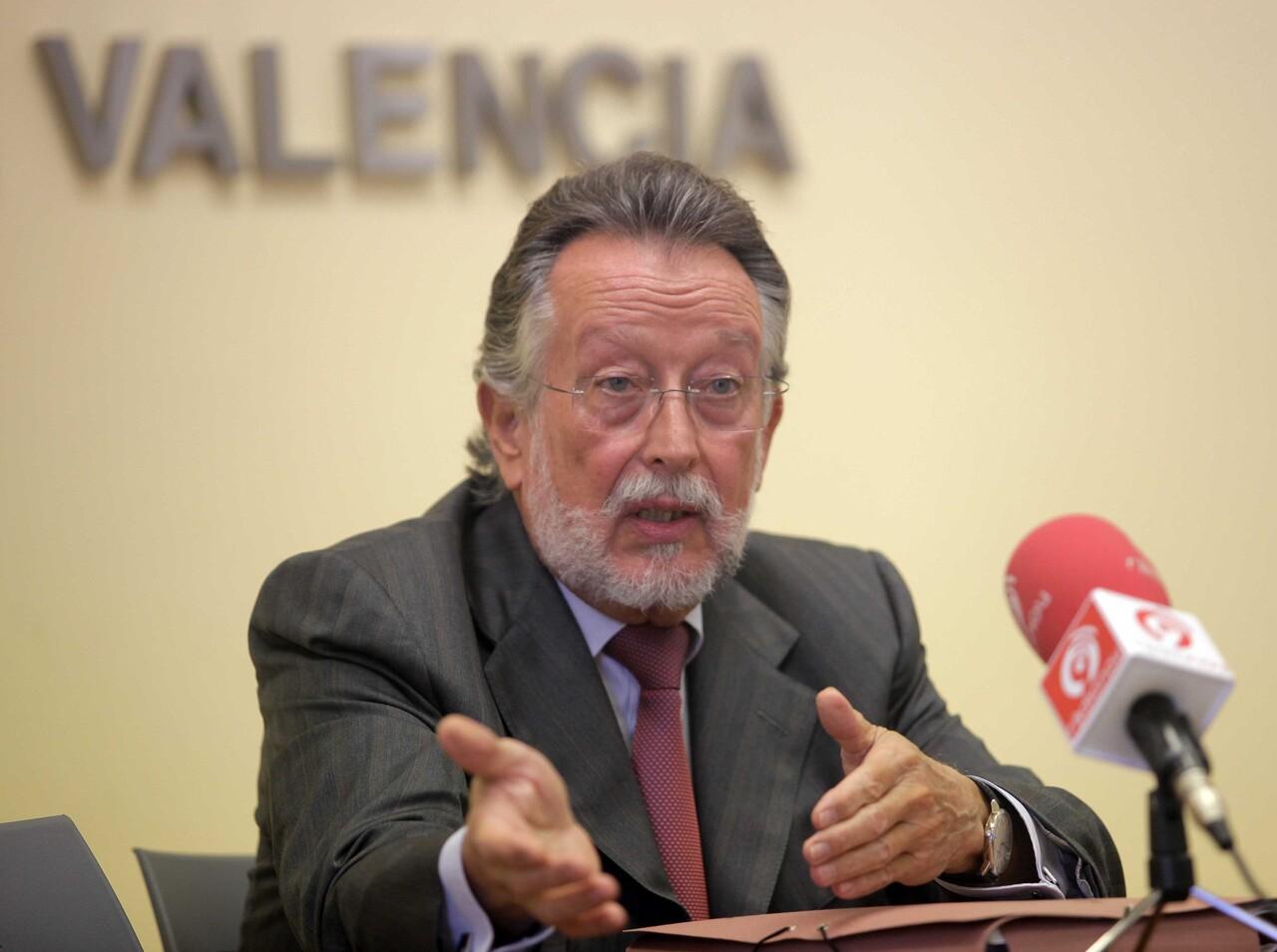 El vicealcalde, Alfonso Grau, en una comparecencia pública/vlcciudad