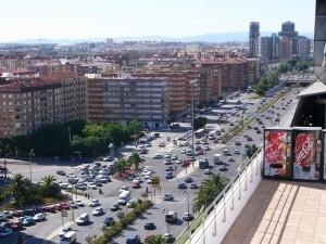 Vista de la avenida Pío XII donde han sucedido los hechos/vlcciudad