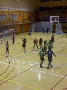 Un momento de la semifinal de Copa entre el Valencia y el Castellón/vlcciudad