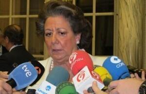 La alcaldesa de Valencia, Rita Barberá