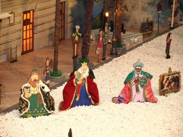 Belén de Na Jordana 2012 - Los tres Reyes Magos. Detalle. Fotos: Artur Part