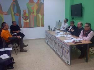Juan Antonio Caballero se dirige a la directiva en la reunión de éste mes/cavecova