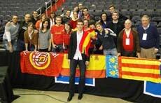 Los valencianos de la Casa de Washington con Claver/España Exterior