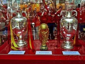 Las tres copas que ha logrado la Selección de Fútbol/vlcciudad