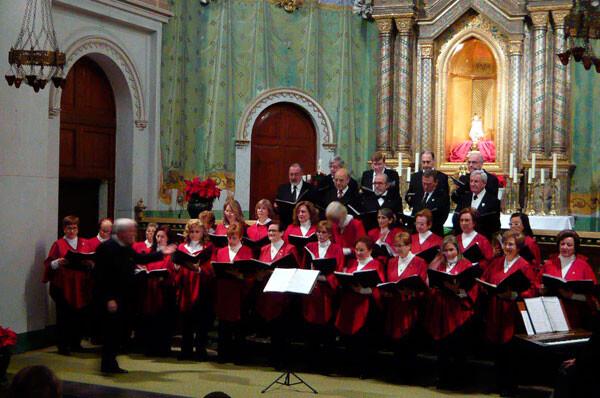 Concierto de Navidad en la iglesia de San Cristóbal, Valencia