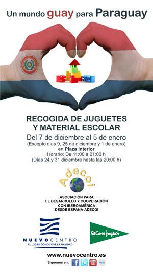 """Campaña """"Un mundo guay para Paraguay"""" de Nuevo centro y ADECOI"""