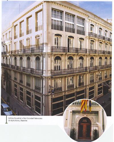 Edificio y sede social de la Real Sociedad Económica de Valencia