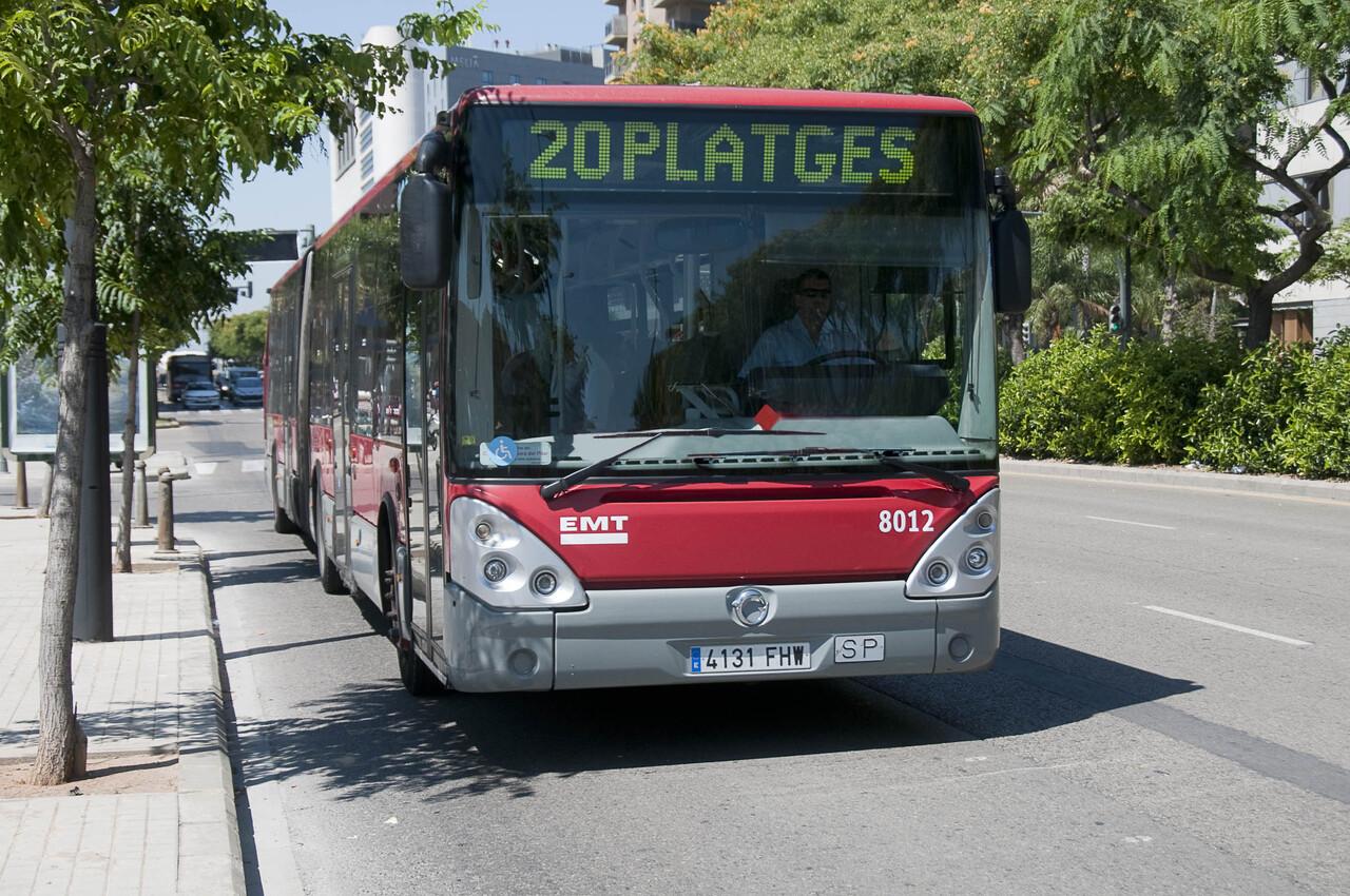 Los hechos tuvieron lugar en un bus de la línea 2 de la EMT