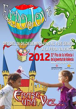 Cartel de Expojove 2012
