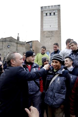 Canals 04122012. Visita torre dels Borja en Canals