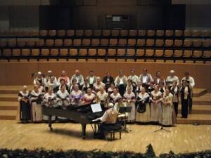 Un momento del Concert de Nadal de otros años/lo rat penat