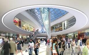 Figuración del interior del centro comercial/oceanic
