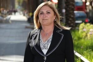 La socialista Pilar Calabuig/vivelasfallas