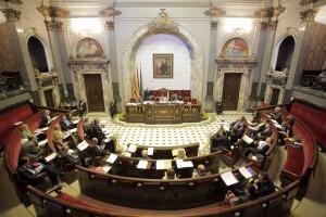Pleno del Ayuntamiento de Valencia del pasado mes de octubre/ayto vlc