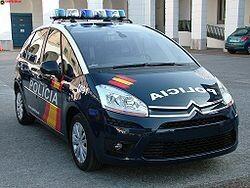 Un vehículo de la Policía Nacional/vlcciudad