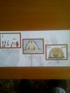 Postal de la Semana Santa Marinera con las postales ganadoras/jmssm
