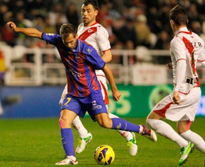 Rayo - Levante: 3-0. Foto: es.levanteud.com