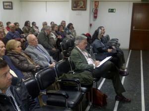 En primera fila estuvo el especialista e investigador José Francisco Ballester Olmos/vlcciudad