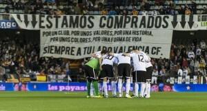 La afición volvió a responder al Valencia/isaac ferrera