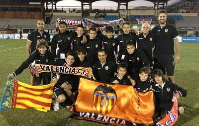 Valencia cf alevin