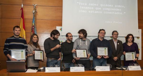 Premios Oimed 2012. Foto de grupo con todos los premiados