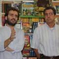 Salva Broseta junto a Marc Galdó/vlcciudad