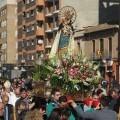 La Virgen de la Paz recorrerá mañna domingo las calles de Torrefiel/javier peiró