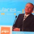 Silvestre Senent  en un acto del Partido Popular/pp