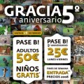 Bioparc Valencia, 5º Aniversario