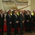 Buch en la inauguración del túnel convoyer que conectará la factoría Ford en Almussafes con la empresa Modular Logística Valenciana (MLV)
