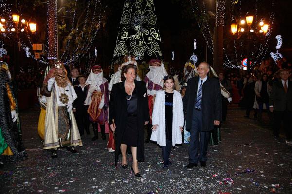 Cabalgata Reyes Magos Valencia 2013
