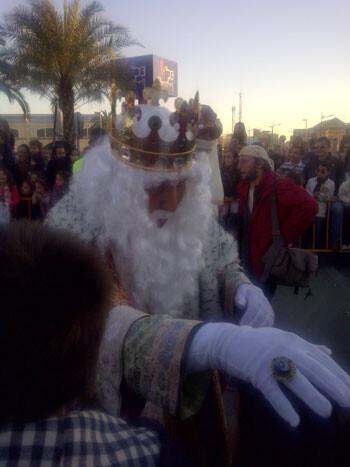 Cabalgata Reyes Magos en Valencia 2013