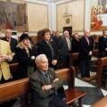 Canito en primera fila en la misa con motivo de su 100 cumpleaños el pasado mes de diciembre/archivalencia