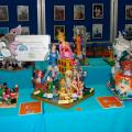 Exposición de las maquetas presentadas en el III Concurso de Maquetas de Fallas Pintor Stolz - Burgos en 2012