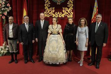 Las autoridades y la Fallera Mayor de Valencia/artur part