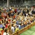 Miles de niños han asistido a los actos en el pabellón de Fiestas