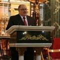 Fernando de Rosa durante el parlamento de las fiestas del Cristo del Grao/eoselblog