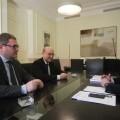 Luis Marti, el presidente de confederación hotelera y el presidente de la diputación, Alfonso Rus