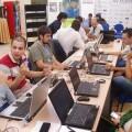 Un grupo de participantes en una edición anterior
