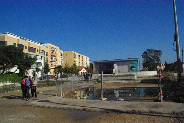 La zona sigue pendiente de urbanizar desde hace 19 meses/gms