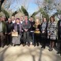 Los pedaneos con el edil Aleixandre y el asesor Julio Aguado/ayto valencia