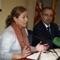 La concejal Bernal explicando los pormenores del sistema digital/ayto valencia