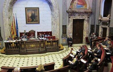 Sesión plenaria del Ayuntamiento de Valencia del pasado mes de diciembre/ayto valencia