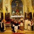 Representación del Altar del Tossal en un templo valenciano