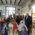 Los Reyes Magos en la Junta Municipal de Exposición