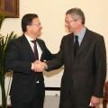 Serafín Castellano se reúne con el ministro Ruiz Gallardón