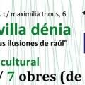 Semana Cultural 'Las Ilusiones de Raúl' en Sevilla-Denia