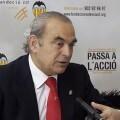 Társilo PIles anuncia su dimisión como presidente de la Fundación Valencia C.F.