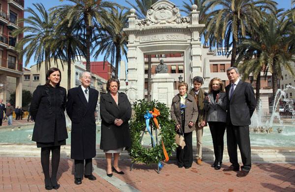 Mª José Catalá y Rita Barberá en el Homenaje a Sorolla
