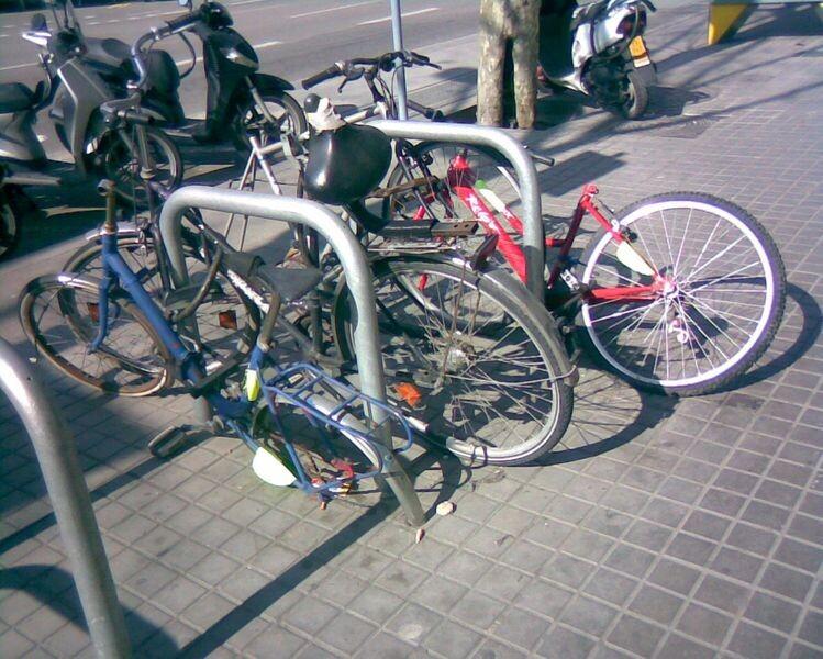 Bicis aparcadas